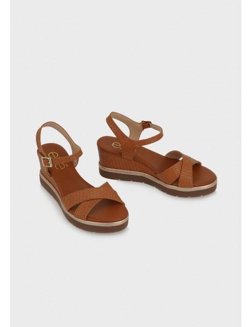 Γυναικείο παπούτσι flat EXE M47009203U52 οικολογικό δέρμα ΤΑΜΠΑ ΣΤΑΜΠΑ